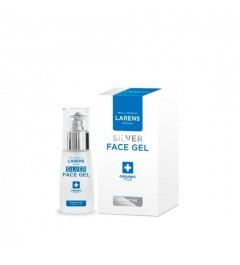 Antibakteriální gel Larens s koloidním stříbrem a přírodním kolagenem na akne Silver Face Gel 30ml