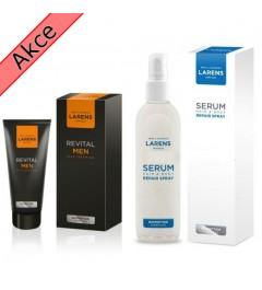 Men  face cream + serum Larens
