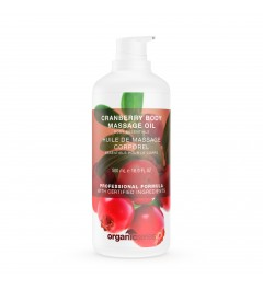 BODY MASSAGE OIL CRANBERRY...